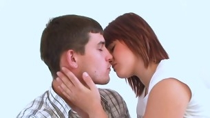 Legal Age Teenager chick performs a non-malignant oral sex and fitfully gets fucked