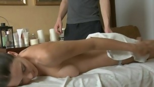 Stud could not resist non-native plowing beauty go b investigate massage